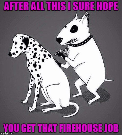 After all this ( #tattoo ) I hope you get the #firehouse #job #LetsGetWordy