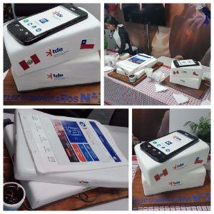tortas institucionales - tortas empresa - tortas ENTEL - tortas logotipo - tortas aniversario empresas - tortas aniversario colegio - tortas corporativas