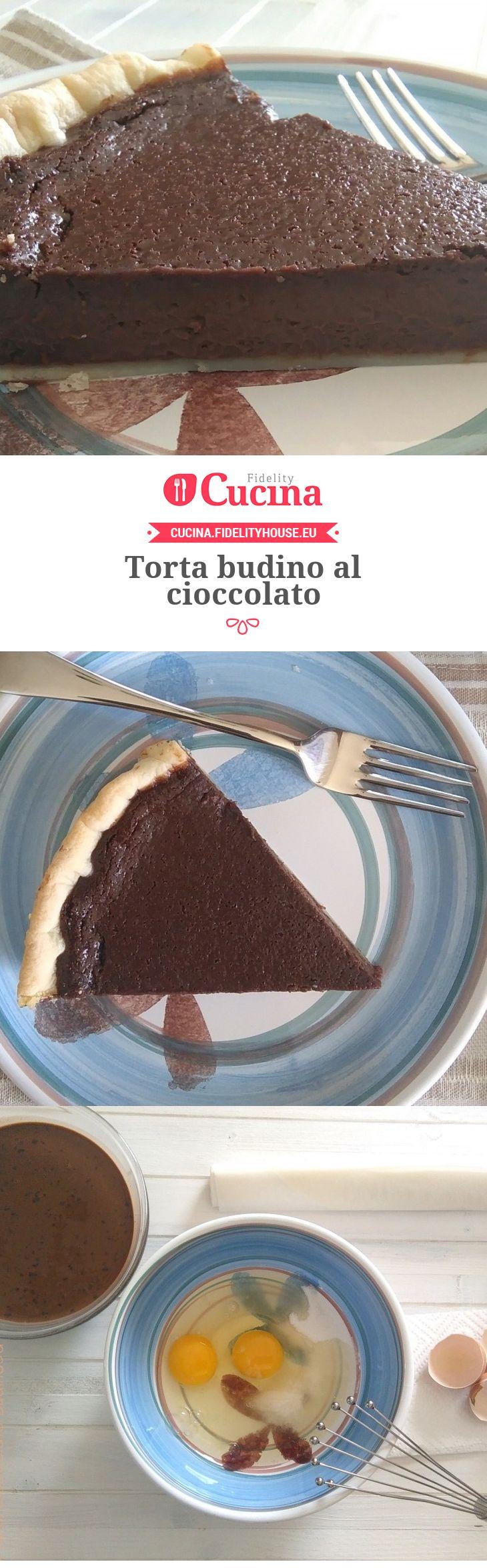 Torta budino al cioccolato