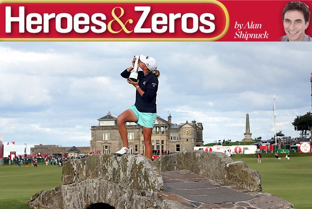 Tiger Woods, Stacy Lewis, Gary Woodland - Heroes and Zeros - GOLF.com