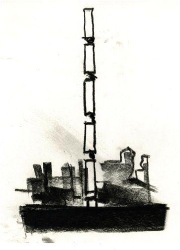 432 Park Avenue | Rafael Viñoly Architects | Rafael Viñoly sketch