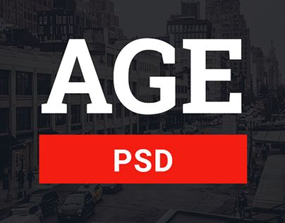 """Check out new work on my @Behance portfolio: """"AGE - Material Design Magazine Blog PSD Template"""" http://on.be.net/1LLw4x2"""