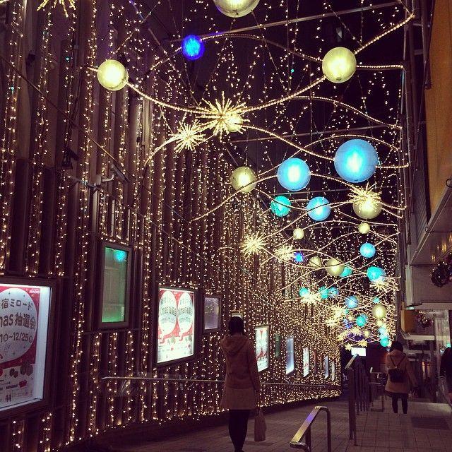 新宿 イルミネーション #クリスマス