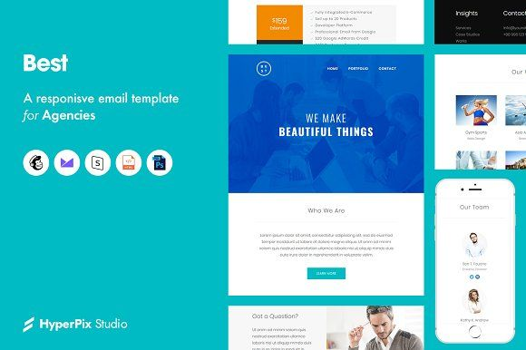 Best Email Template By Hyperpix Studio Layer3templates