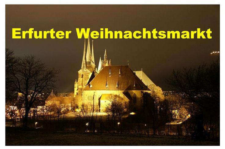Bildquelle: napolis/ https://pixabay.com/de/erfurt-dom-architektur-kirche-1072350/    Erfurt im schönen Thüringer Land zieht jedes Jahr zu Weihnachten fast zwei Millionen Besucher an. Es folgt damit dicht hinter Nürnberg mit seinem weltberühmten Christkindlmarkt in der Beliebtheitsskala bei den Besuchern. Mehr Text s. Webseite unten >>