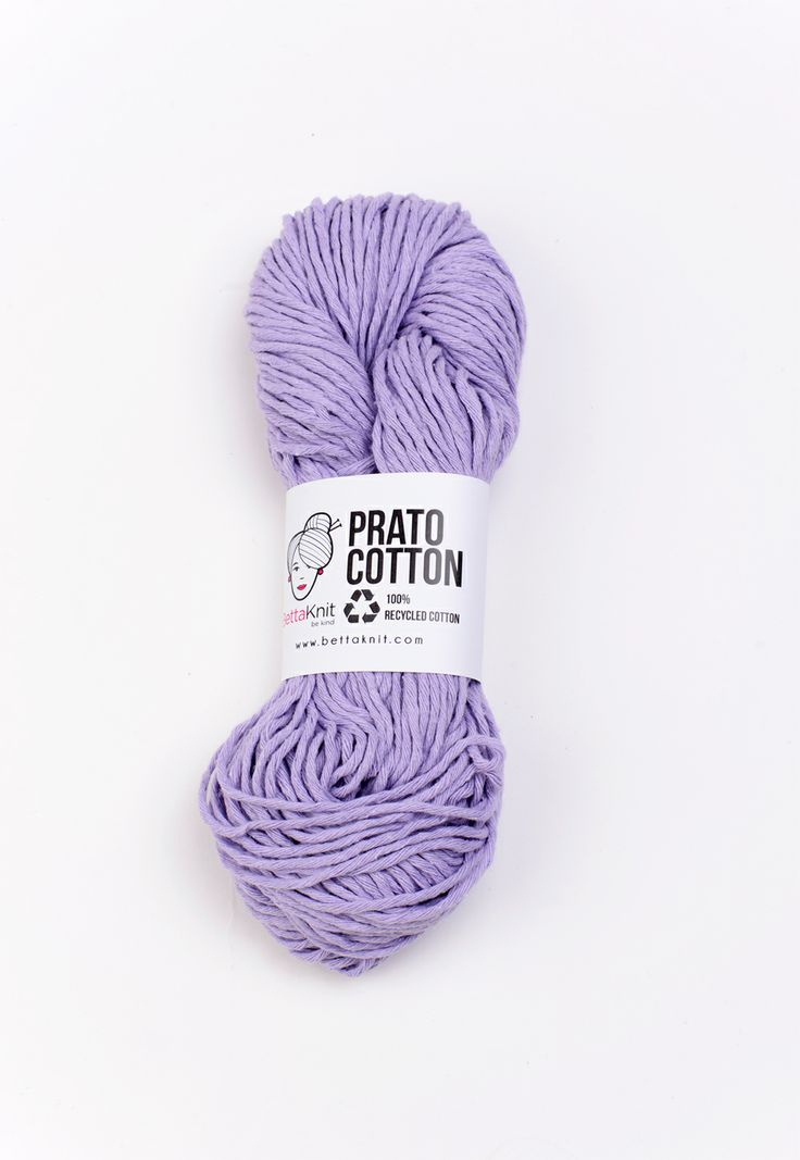 Prato Cotton - Lilac 100% recycled – 100% ecological www.bettaknit.com