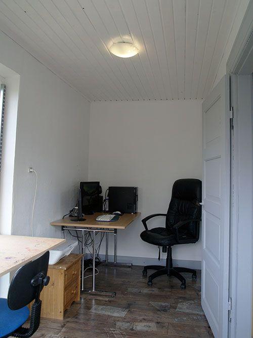Fritids hus til salg på Samsø med flot kontor