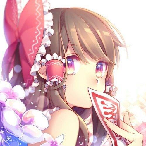 anime, anime girl, and touhou image