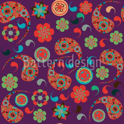 Paisleys Have A Party Vector Pattern   #paisley #pattern, #folk, #etchnic, #asian, #Indian, #palm #branch, #Persian #cypress, #colorful, #Turkish #cucumber, #ornamental, #oriental, #buta, #vintage, #retro, #flower, #floral, #leaf, #pickles, #culture, #swirl #doodle #east #modern #etchnic #vector #RF