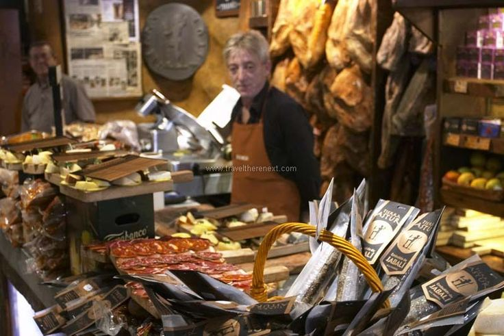 Oviedo Spain - Stall in the El Fontan market  #spain #oviedo #interesting #discover #experience #adventure #asturias #history #church #mountain #museum #travel #traveltherenext
