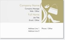 accessories boutique Premium Business Cards
