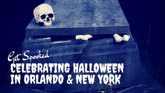 Get Spooked Celebrating Halloween in Orlando and New York   From ghoulish haunts to boo-tiful experiences, Orlando and New York City celebrate the spirit of Halloween and offer their visitors an experience to remember!