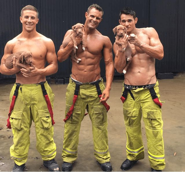 See firefighters strip down for a good cause!
