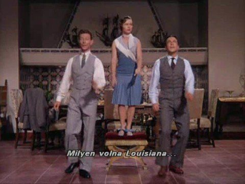 Debbie Reynolds, Gene Kelly & Donald O'Connor - Good morning - Singin' in the rain.