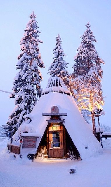 Finland.. (by Gary2012haha on Flickr)Snow Cabin, Tiny House, Winter, Dreams, Guest House, Snow Huts, Snowy Huts, Places, Tiny Snow