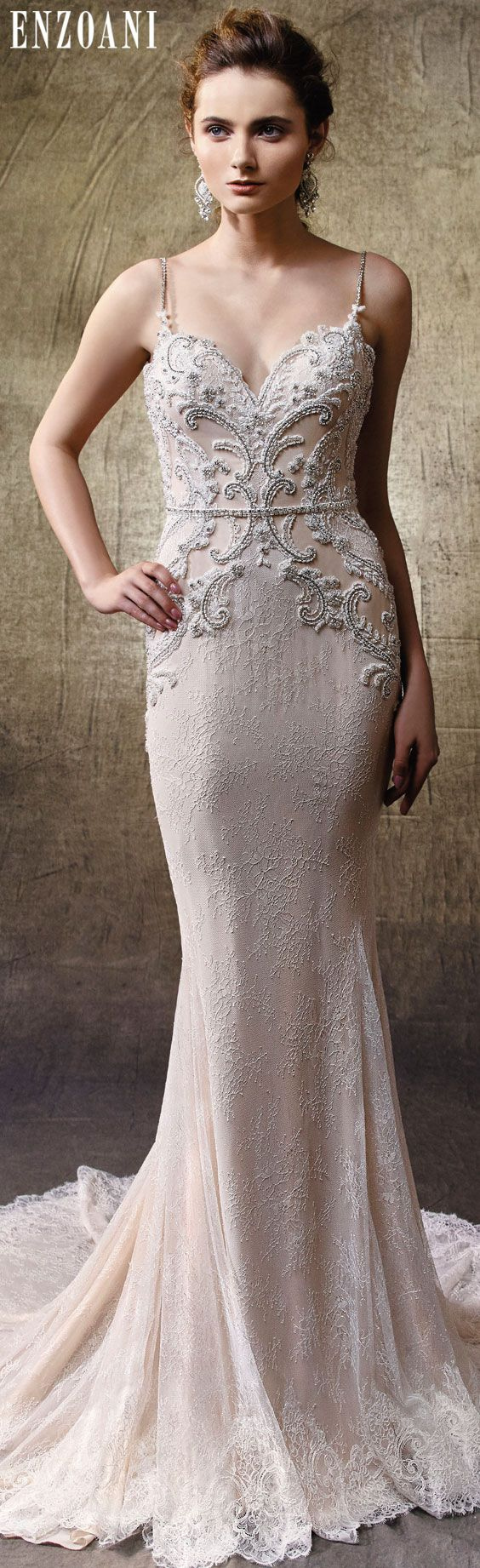 120 best 2017 Enzoani Collection images on Pinterest | Short wedding ...
