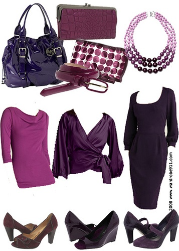 Love the colour purple, love the dress