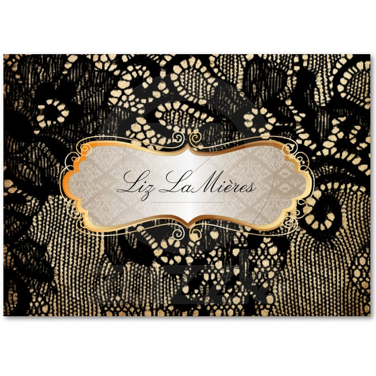 12 best vintage postcard business cards images on pinterest pixdezines vintage lace upblack business card only 1955 in bulk reheart Image collections