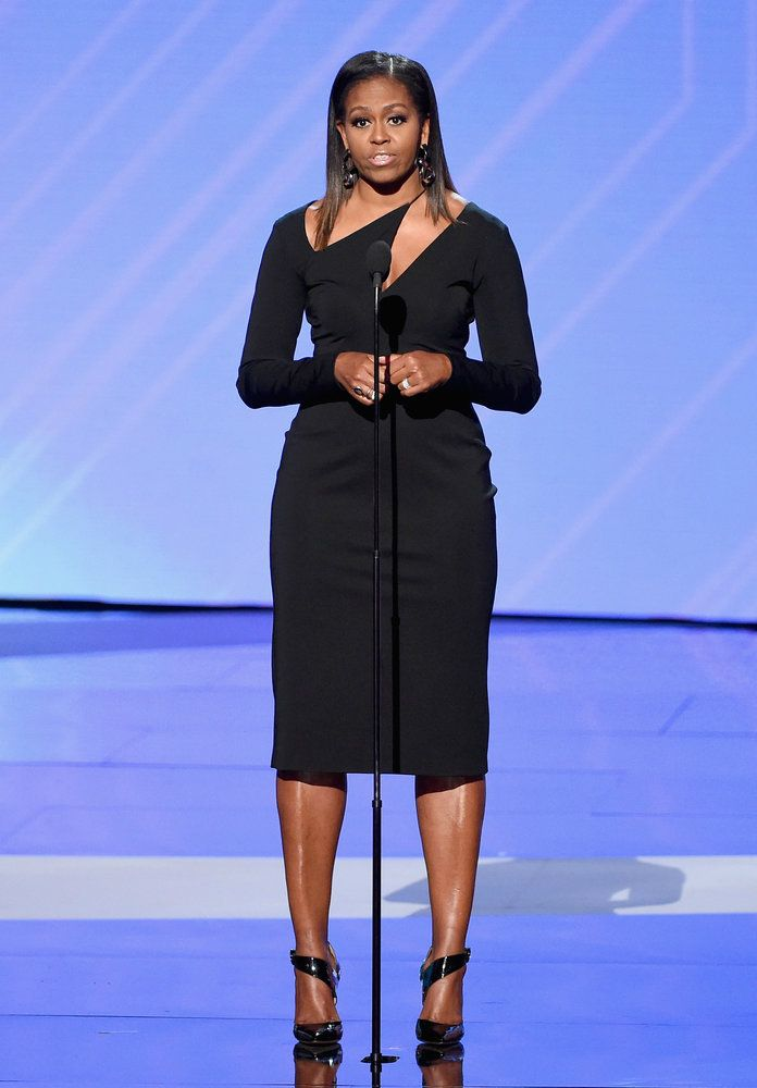 See Michelle Obama's Fierce Look at the 2017 ESPY Awards