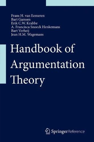 I'm selling cheap ebook -- Handbook of Argumentation Theory -- $277