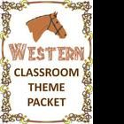This zip file contains 42 pages packed with items for a Western classroom theme, including: MS Word 2007 & 2003 newsletter templates, binder cover,...