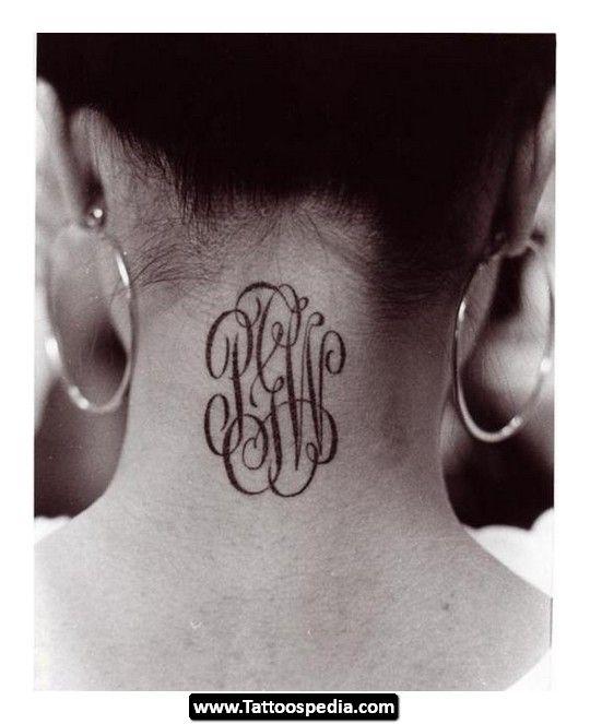 Tattoo Ideas Using Initials: Best 25+ Monogram Tattoo Ideas On Pinterest