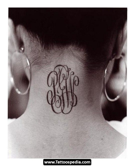 Best 25+ Monogram Tattoo Ideas On Pinterest