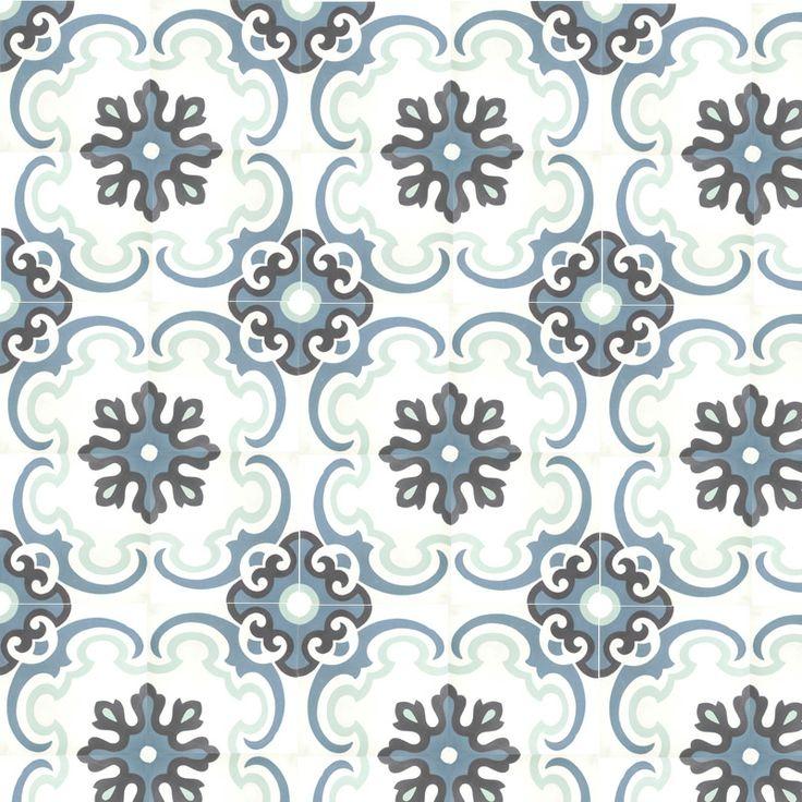 carreau ciment bleu océan 59€/m²