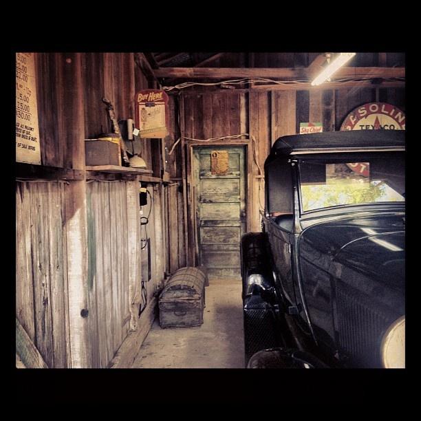 Antique Car Garage All About Oak Alley Plantation