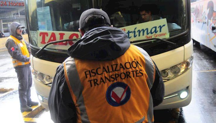 Fiscalizadores de Transportes se van a paro y no fiscalizarán durante fin de semana largo