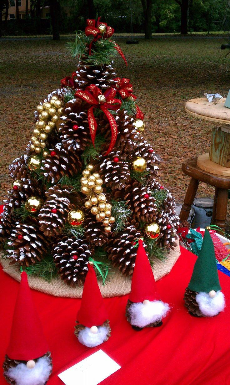 Pine Cone Decorations For Christmas Trees