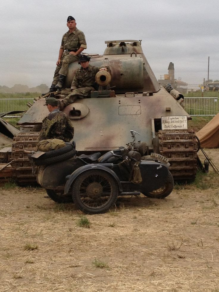 Panther Ausf A @ war and peace revival