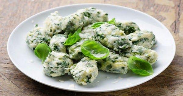 Receta facil de Malfatti de espinaca y ricota. Como hacer Malfatti de espinaca y ricota caseros. Malfatti de espinaca y ricota, muy faciles de hacer al mejor esitlo italiano y deliciosos.