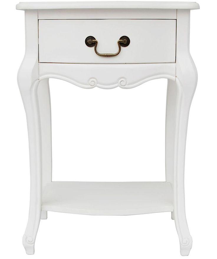 Best Buy Juliette 1 Drawer Bedside Table White At Argos Co Uk 400 x 300