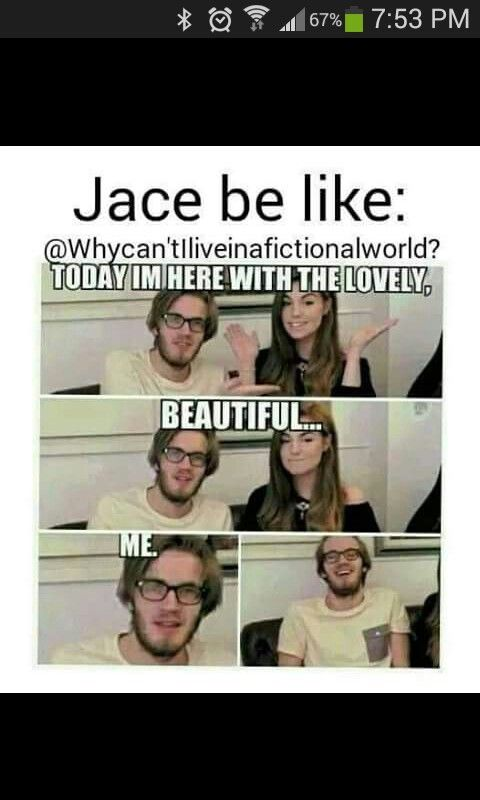 And people wonder why both first books of TMI and TID I got off on the wrong foot with both Herondales