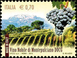 2013: Vino nobile di Montepulciano (איטליה) (Made in Italy: DOCG wines) Mi:IT 3642,Yt:IT 3403,Un:IT 3485