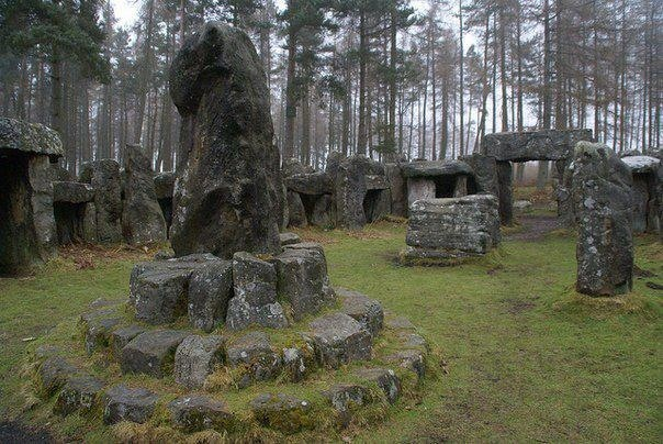 Druid's Temple, England  - A Pagan wedding would be great here.