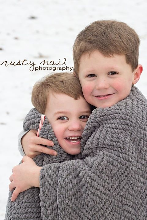 great idea for picture on Christmas card