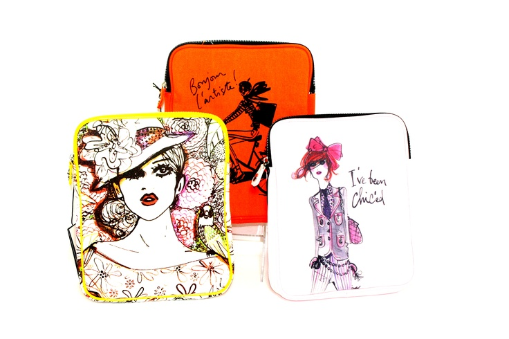 These great new iPad cases are just in and a perfect way to decorate your desk!