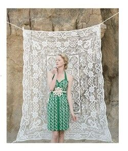 photo backdrop with lace