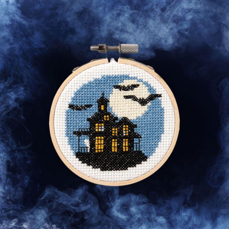 Needlecrafting - Free Cross Stitch Halloween Pattern