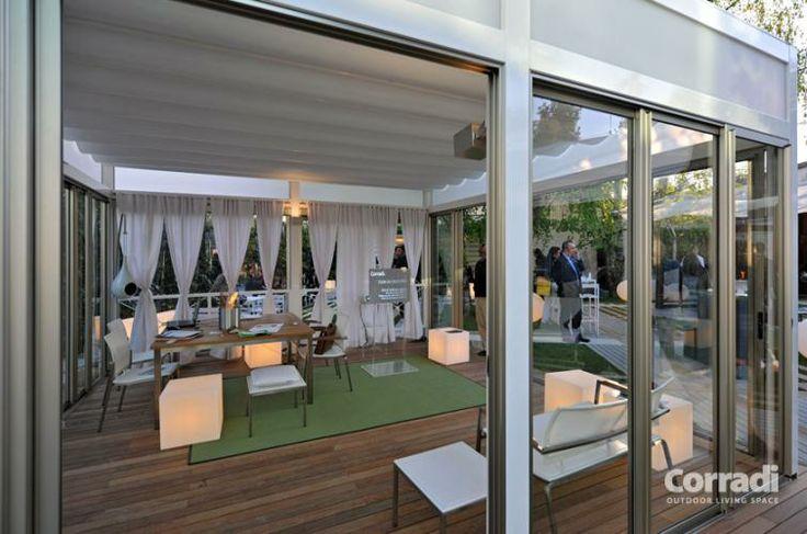 Pergolati - pergotenda Kubo di Corradi - crea un angolo di giardino unico ed elegante con Centro Tende