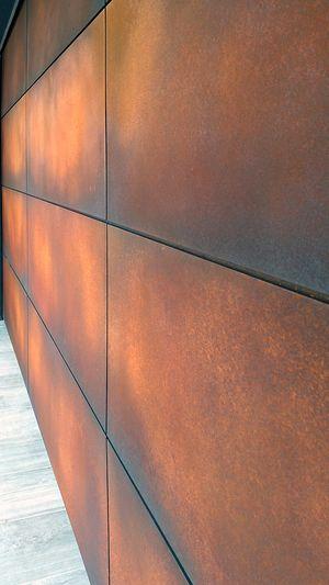 Custom Rust Garage Door