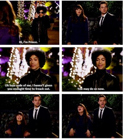 This was seriously the best part of the entire episode. easily d and i. hahaha our love for Prince would've made us do the exact same thing