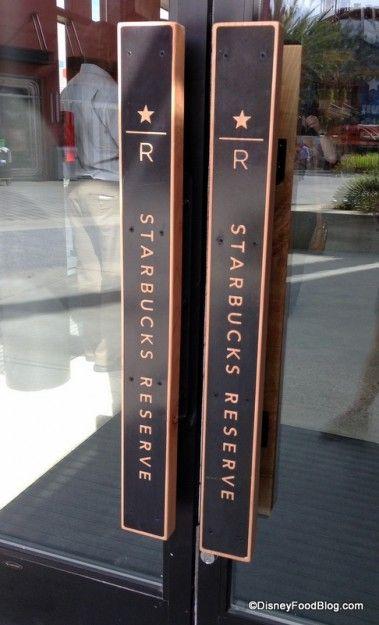 Starbucks Reserve door handles