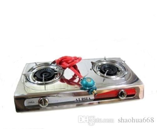 Portable Propane Double Burner Camping Gas Stove Gate Tailgating Trangia Stove Outdoor Kitchen Grills From Shaohua668, $37.58| Dhgate.Com