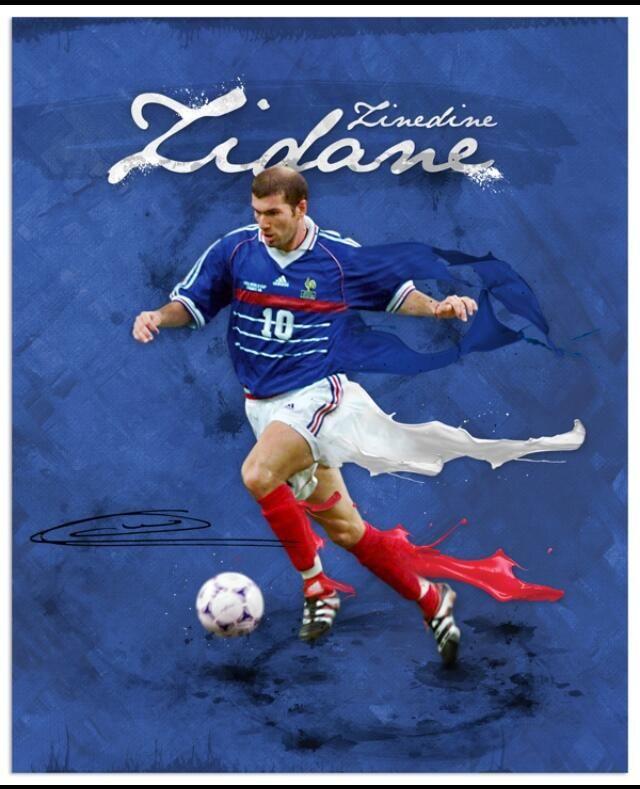 World Cup Legends Zidane