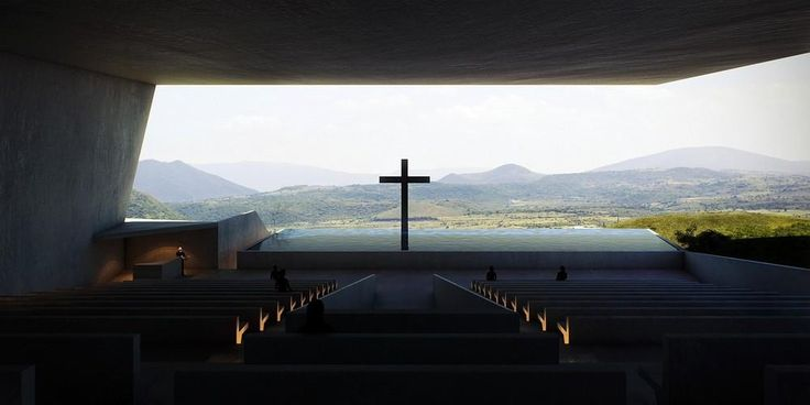 Chapel at Murcia by Sanjay Puri Architects