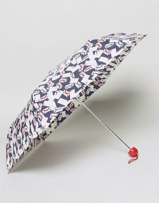 Lulu Guinness | Lulu Guinness Superslim Envelope Print Umbrella