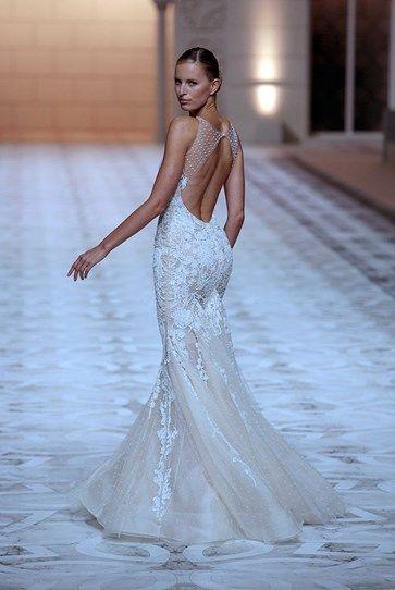 This Pronovias gown is perfect balance of sexy, traditional & ladylike. #weddinginspiration via @Cosmo Australia